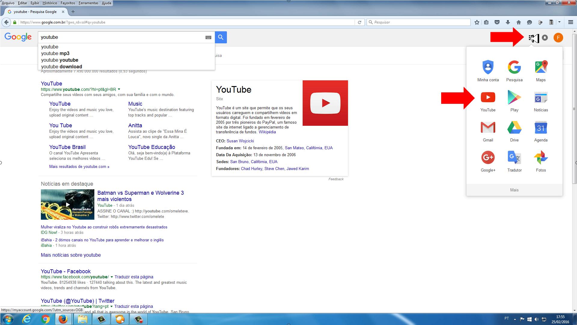 9d01f181e ... como criar canal no youtube - youtube